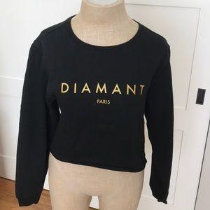 Diamond Supply Co cropped crewneck